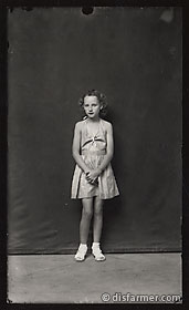 Young Girl in Summer Dress