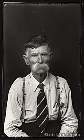 Older Man with Mustache