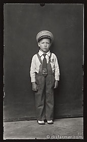 Young Boy with Flying Fortress Tie