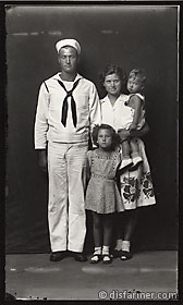 Sailor with his Wife and Children