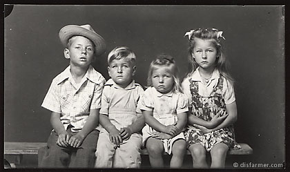 Four Blond Children