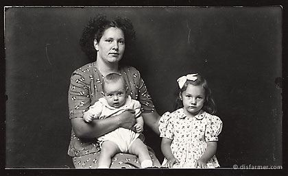 Mother with Daughter and infant