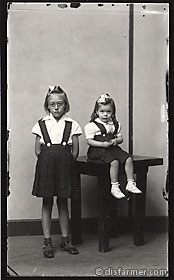 Two Girls in Suspender Dresses