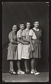 Four Women Friends Together