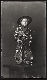 Young Boy in Sheriff Outfit