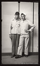 A Sailor with Arm Around His Friend